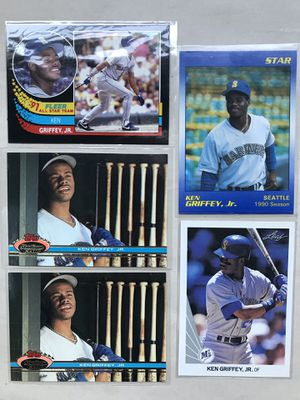 Ken Griffey jr Lot of 5 baseball cards for Sale in La Mesa, CA