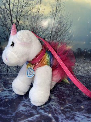 "Poochie & Co. Unicorn Tutu Purse 14"" plush for Sale in Paramount, CA"