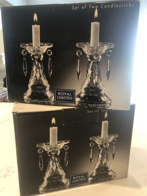 Candle Holders Crystal for Sale in Irvine, CA