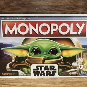 Star Wars The mandolorian Monopoly for Sale in Sloan, NV