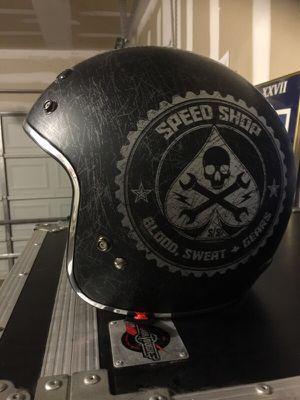 3/4 motorcycle helmet for Sale in Denver, CO