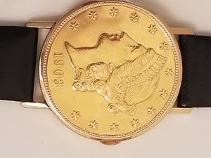Universal geneve coin watch for Sale in Fontana, CA