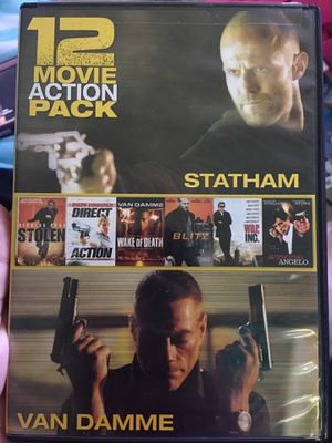 12 awesome action movies for Sale in Richmond, VA