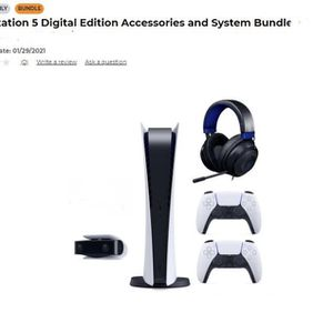 PS5 BUNDLE!!! $900 CASH OR ZELLE . ONLY MIAMI for Sale in Miami, FL