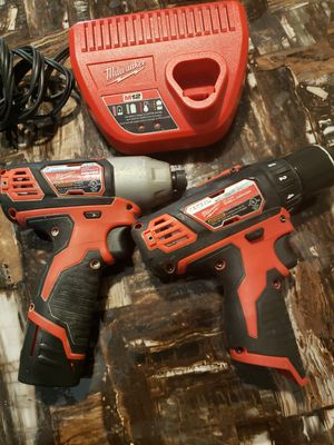 Milwaukee M12 Impact/drill for Sale in Houston, TX