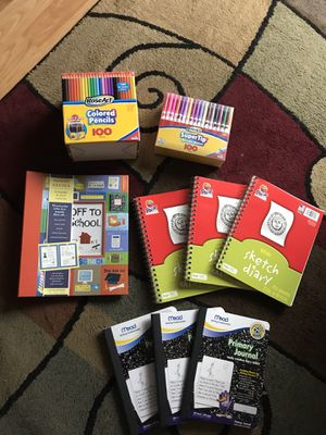 Art & School Supply Bundle - All new, but the school memory keeper is a bit bent. Please see pics for details. $22 for the bundle and I will also shi for Sale in Brentwood, NC