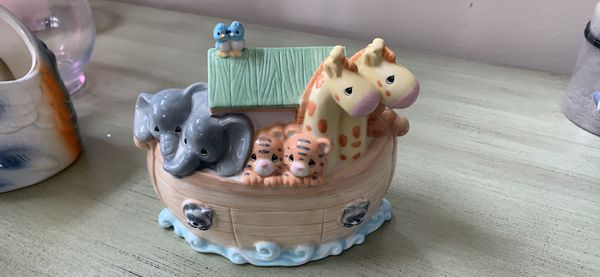 Noah's ark piggy bank