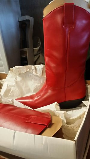 All leather boots women for Sale in Pittsburg, CA