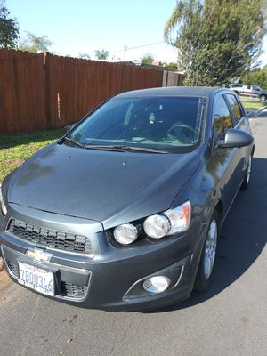 Chevy sonic LT , 2013 , gray color for Sale in San Diego, CA