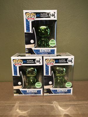 Funk Pop Emerald Chrome Batman for Sale in New York, NY