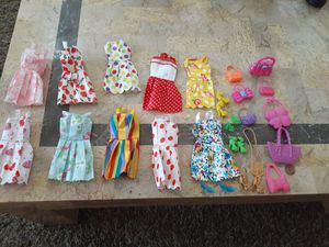 Barbie clothes lot for Sale in Riverside, CA