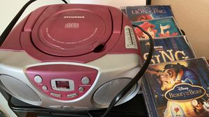 Kids CD player with 4 CDs for Sale in Bothell, WA