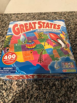 Great States game board for Sale in El Paso, TX