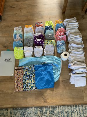 Complete Cloth Diapering Set for Sale in Marysville, WA