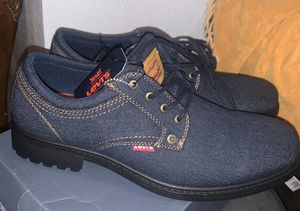 Men's denim Levi's shoes brand new size 13 for Sale in Santa Ana, CA