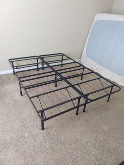 Full-Size Foldable Platform Bed Frame for Sale in Durham,  NC