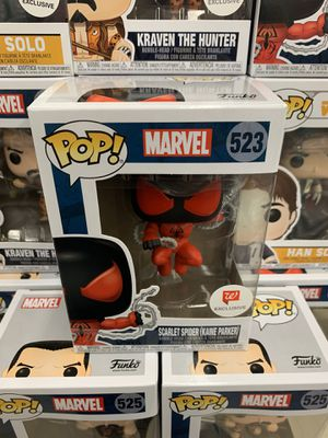 Funko Pop Walgreens Exclusive Scarlet Spider for Sale in Los Angeles, CA