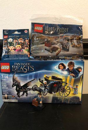 LEGO Harry Potter & Fantastic Beasts + FREE Minifigure Bag for Sale in Baldwin Park, CA