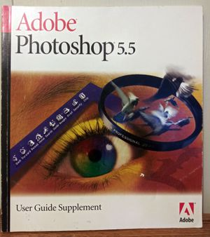 Adobe Photoshop 5.5 User Guide Supplement for Sale in Detroit, MI