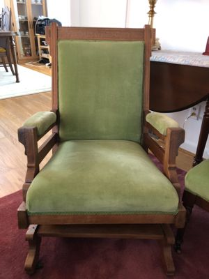 Antique Victorian Eastlake Glider Chair for Sale in Seattle, WA