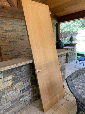 Solid wood 8' door for Sale in Southlake, TX