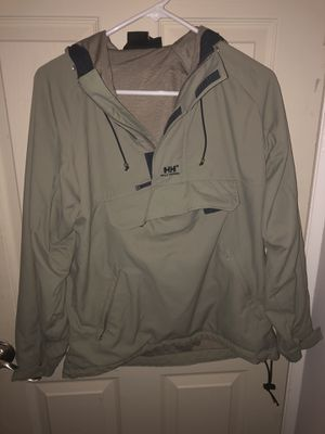 Helly Hansen Moss Green Pullover Jacket for Sale in Catonsville, MD