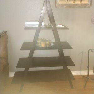 Ladder shelf(black) for Sale in Cleveland, TX