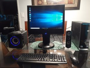 Hp Computer Windows 10. Good working condition. for Sale in Rialto, CA