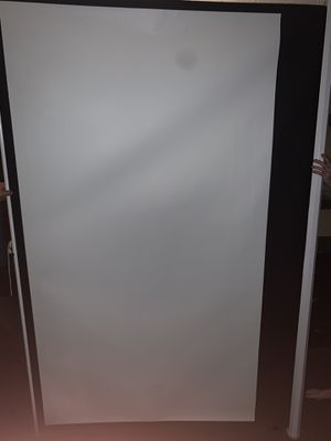 100 inch projector screen for Sale in Auburndale, FL