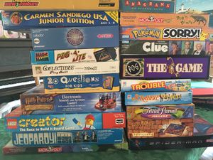 Games-board for Sale in Parkville, MD