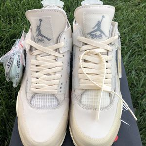 Off White Jordan 4 for Sale in Beaumont, CA