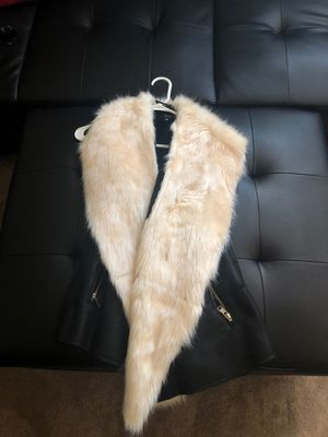 Women's small fur vest for Sale in Wauwatosa, WI