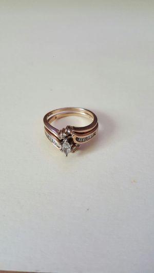 Wedding rings real diamonds for Sale in El Cajon, CA