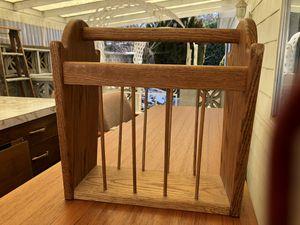 Wooden Sturdy Magazine Rack for Sale in Centerville, UT