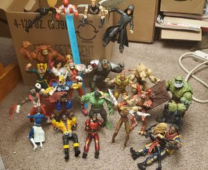 53 collectible marvel action figures for Sale in Allentown, PA