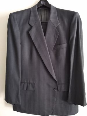 Custom Gray Suit With Pinstripe S 48R for Sale in TEMPLE TERR, FL