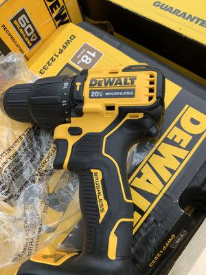 Dewalt brushless atomic hammer drill no battery brand new not negotiable for Sale in Plant City, FL