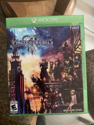 Kingdom Hearts 3 Xbox One for Sale in Sacramento, CA