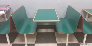 Laminated restaurant booths for Sale in Williamsport, PA