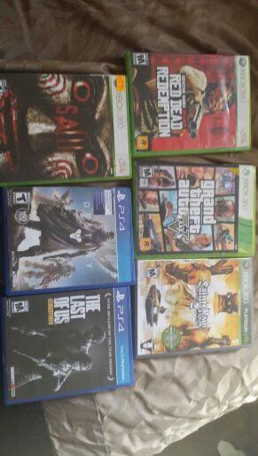 Xbox360 & ps4 games for Sale in Santa Monica, CA