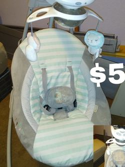 Baby Swing, Baby Bath, Sitting Chair for Sale in Orange Cove,  CA