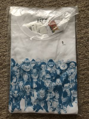 UT Uniqlo Dragon Ball Z Anime Manga Weekly Jump 50th End T-Shirt Japan Rare S for Sale in Sterling, VA