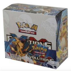 Factory sealed Pokémon XY Evolutions Booster Box for Sale in Snoqualmie Pass,  WA