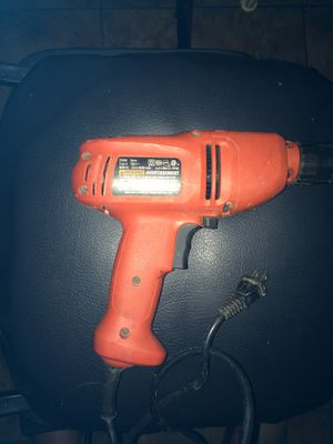 Black and decker drill for Sale in Warner Robins, GA