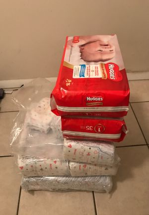 Huggies size one for Sale in Winter Haven, FL