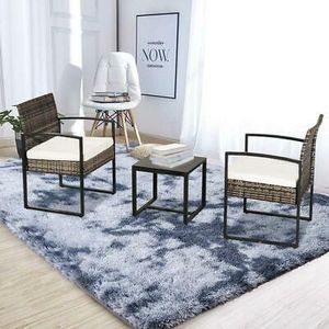 3pcs Patio Bistro Set PE Rattan Wicker W/Cushion Home Furniture for Sale in Los Angeles, CA