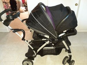 Graco Room for 2 click connect stand and ride stroller for Sale in Pawtucket, RI