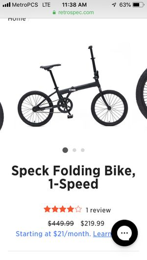 Folding bike for Sale in Washington, DC