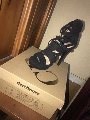 Black Charlotte Russe heels for Sale in Denton, TX