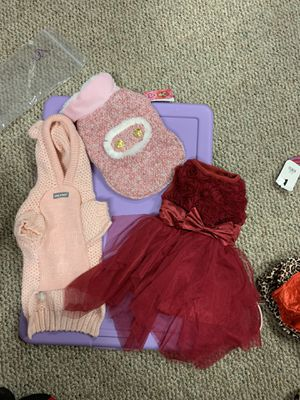 Dog cloths and collars for Sale in Kent, WA